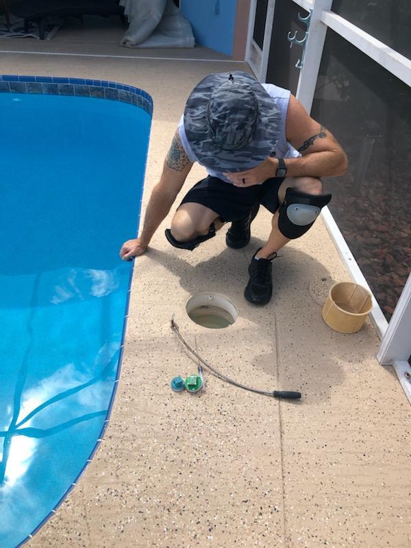 Fort Myers pool leak detection